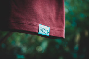 STAUBTÄNZER Shirt LEAF No. 2 burgundy