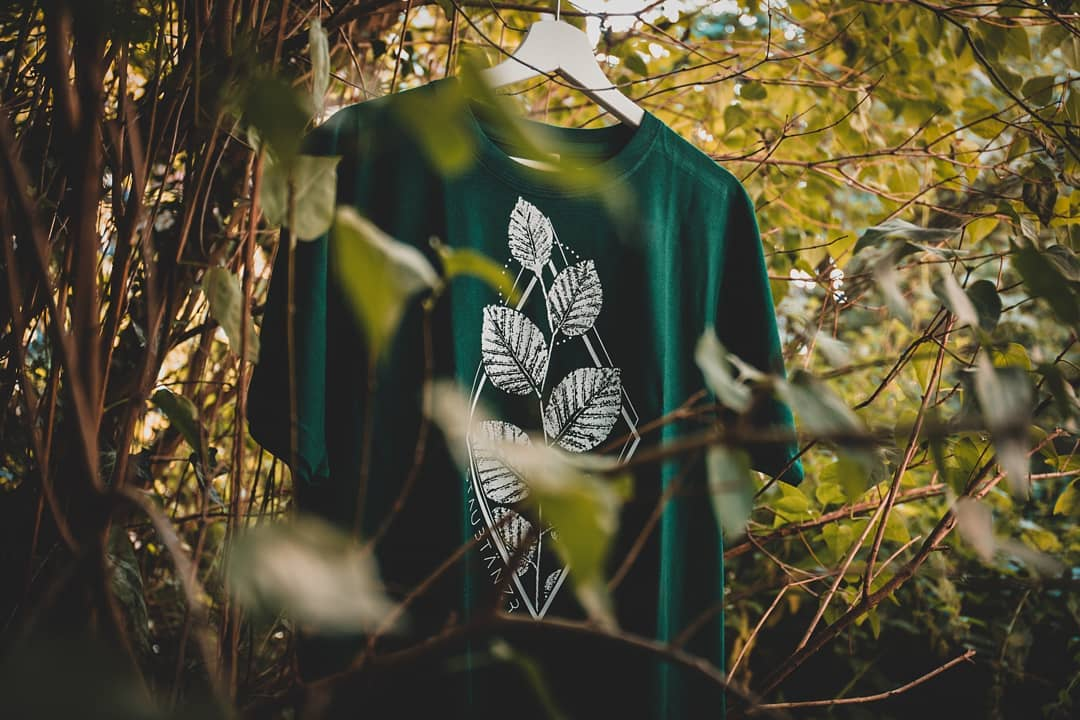 Shirt LEAF No. 2 in bottle green