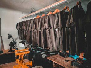 Shirt STONE Herstellung