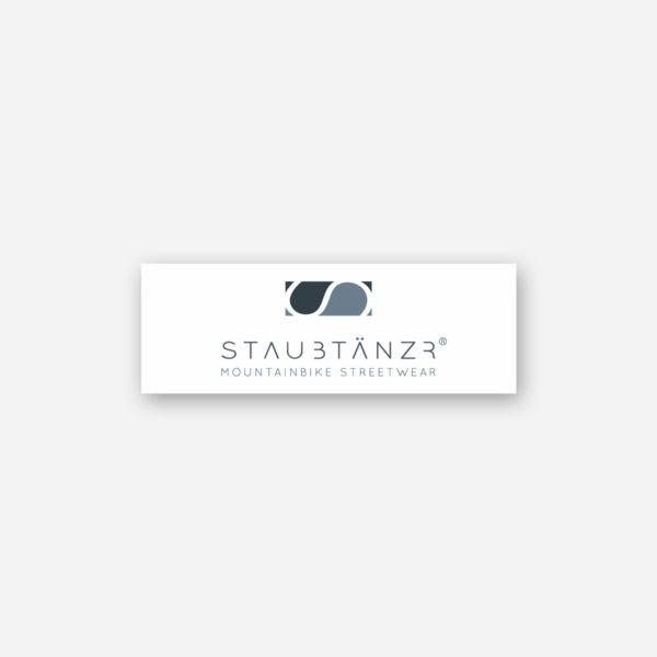 Sticker STAUBTÄNZER white
