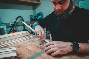 Bearbeitung Holzleisten